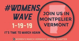 The #WomensWave at Vt State House Sat Feb19th 10-noon